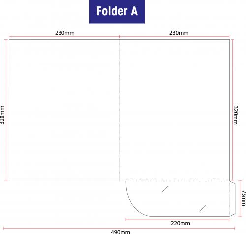 Folder A: Standard 310gsm Artcard