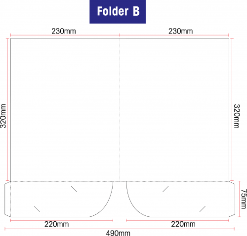Folder B: Standard 310gsm Artcard