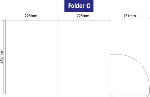 Folder C: Standard 310gsm Artcard